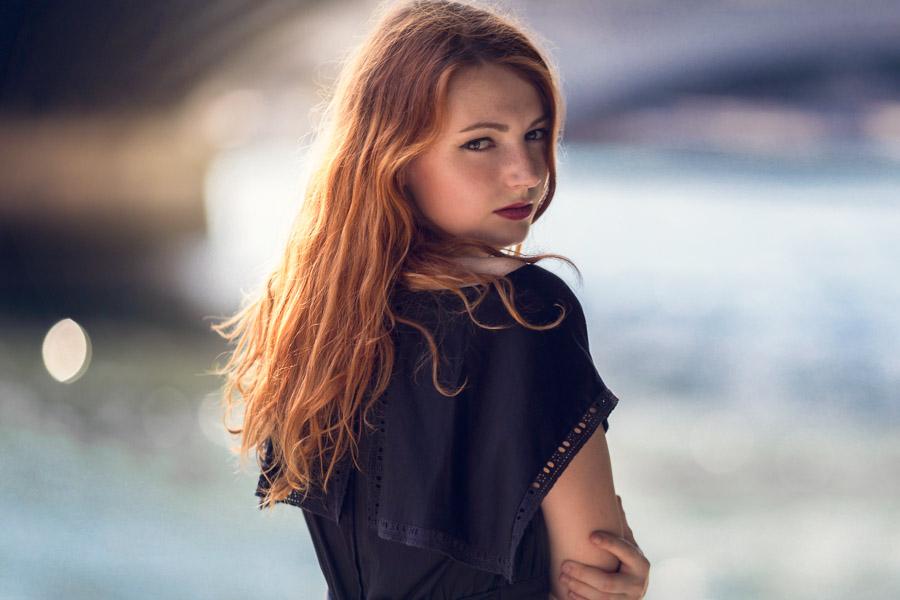 Séance portrait la petite robe noire
