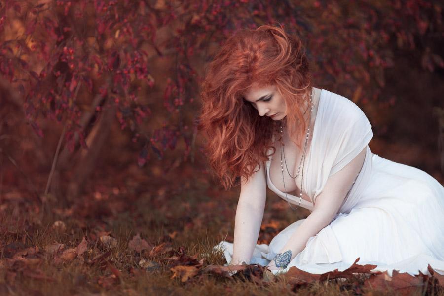 Séance portrait aux couleurs de l'automne
