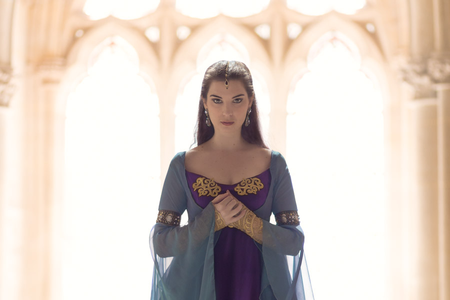 Séance portrait Morgana Pendragon