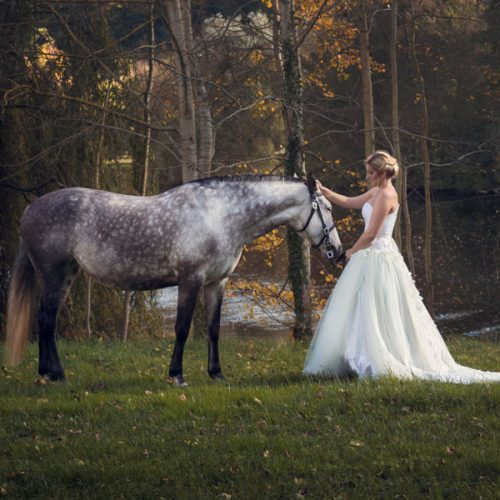 Il était une fois La mariée avec son cheval